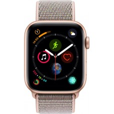 Apple Watch Series 4 - 40mm Gold Aluminum Case with Pink San...