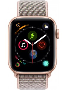 Apple Watch Series 4 - 40mm Gold Aluminum Case with Pink Sand Sport Loop, GPS, watchOS 5